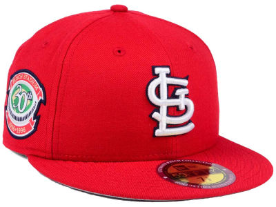 St. Louis Cardinals New Era MLB Ultimate Patch Collection Anniversary 59FIFTY Cap