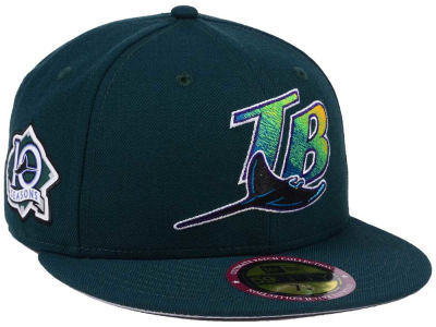 Tampa Bay Rays New Era MLB Ultimate Patch Collection Anniversary 59FIFTY Cap