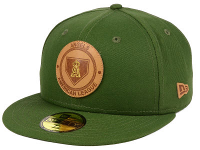 Los Angeles Angels New Era MLB Vintage Olive 59FIFTY Cap
