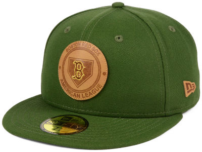 Boston Red Sox New Era MLB Vintage Olive 59FIFTY Cap