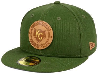 Kansas City Royals New Era MLB Vintage Olive 59FIFTY Cap
