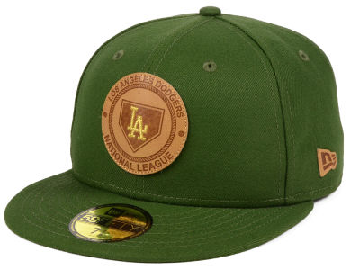 Los Angeles Dodgers New Era MLB Vintage Olive 59FIFTY Cap
