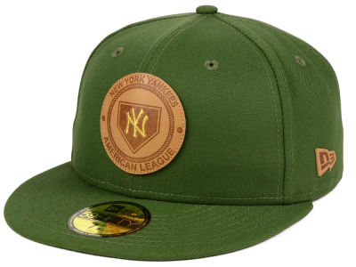 New York Yankees New Era MLB Vintage Olive 59FIFTY Cap
