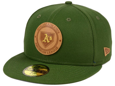 Oakland Athletics New Era MLB Vintage Olive 59FIFTY Cap