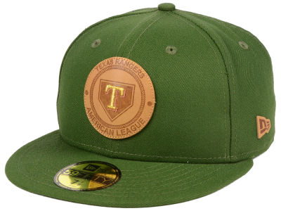 Texas Rangers New Era MLB Vintage Olive 59FIFTY Cap