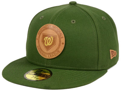 Washington Nationals New Era MLB Vintage Olive 59FIFTY Cap