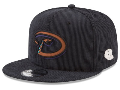 Arizona Diamondbacks New Era MLB All Cooperstown Corduroy 9FIFTY Snapback Cap