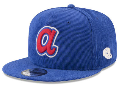 Atlanta Braves New Era MLB All Cooperstown Corduroy 9FIFTY Snapback Cap