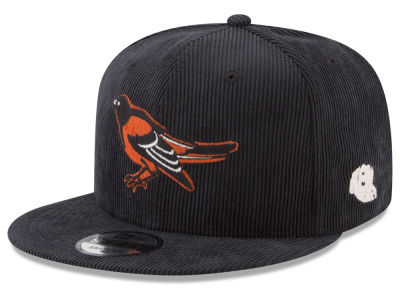 Baltimore Orioles New Era MLB All Cooperstown Corduroy 9FIFTY Snapback Cap