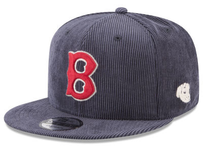 Boston Red Sox New Era MLB All Cooperstown Corduroy 9FIFTY Snapback Cap