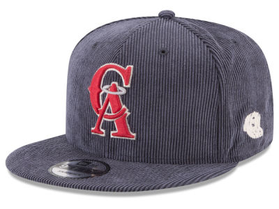 Los Angeles Angels New Era MLB All Cooperstown Corduroy 9FIFTY Snapback Cap