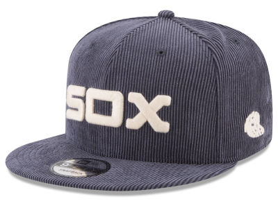Chicago White Sox New Era MLB All Cooperstown Corduroy 9FIFTY Snapback Cap