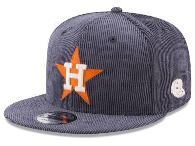 Houston Astros New Era MLB All Cooperstown Corduroy 9FIFTY Snapback Cap