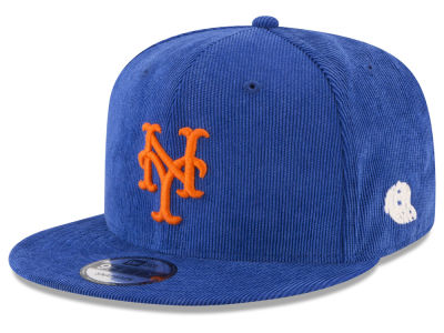 New York Mets New Era MLB All Cooperstown Corduroy 9FIFTY Snapback Cap