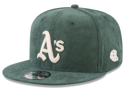 Oakland Athletics New Era MLB All Cooperstown Corduroy 9FIFTY Snapback Cap
