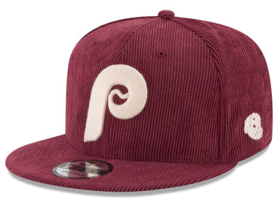 Philadelphia Phillies New Era MLB All Cooperstown Corduroy 9FIFTY Snapback Cap