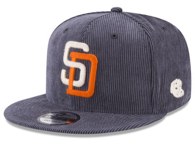 San Diego Padres New Era MLB All Cooperstown Corduroy 9FIFTY Snapback Cap