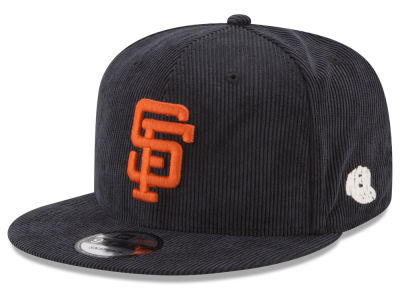 San Francisco Giants New Era MLB All Cooperstown Corduroy 9FIFTY Snapback Cap
