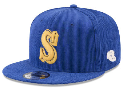 Seattle Mariners New Era MLB All Cooperstown Corduroy 9FIFTY Snapback Cap