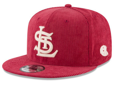 St. Louis Cardinals New Era MLB All Cooperstown Corduroy 9FIFTY Snapback Cap