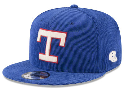 Texas Rangers New Era MLB All Cooperstown Corduroy 9FIFTY Snapback Cap