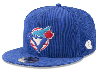 Toronto Blue Jays New Era MLB All Cooperstown Corduroy 9FIFTY Snapback Cap