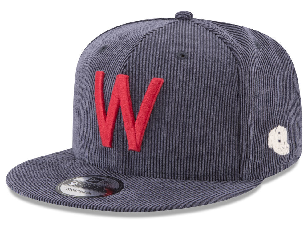 ba8ad74c1 Washington Senators New Era MLB All Cooperstown Corduroy 9FIFTY Snapback Cap