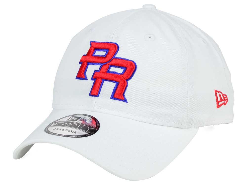 a7e962498bb Puerto Rico New Era World Baseball Classic Core 9TWENTY Strapback Cap