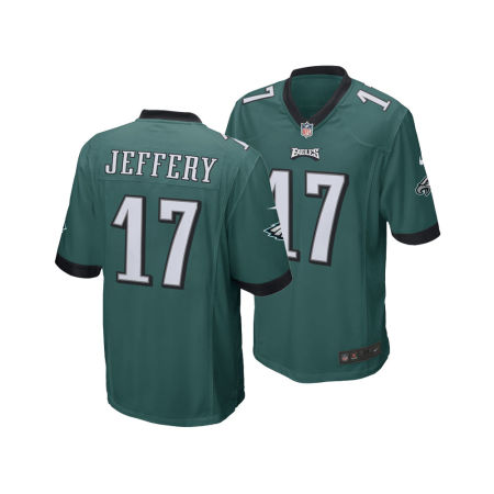 Philadelphia Eagles Alshon Jeffery Nike NFL Men's Game Jersey