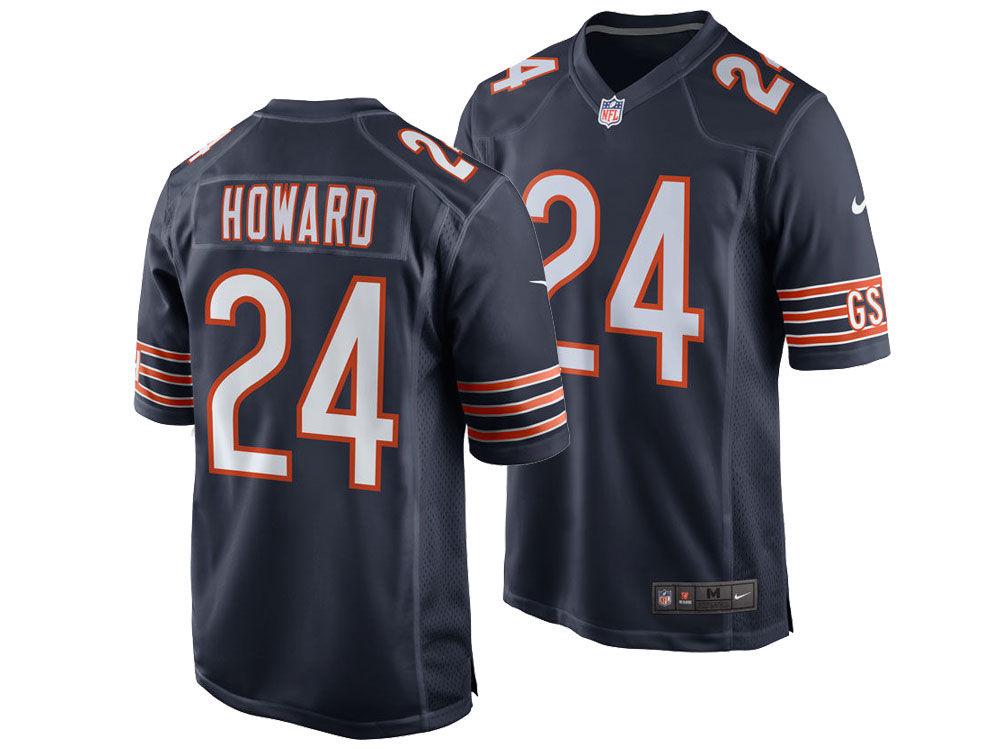 28e44529 ... new zealand chicago bears jordan howard nike nfl mens game jersey lids  ec3c8 9c7cc