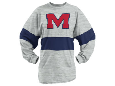 Ole Miss Rebels Pressbox NCAA Women's Morehead Sweeper Long Sleeve T-Shirt