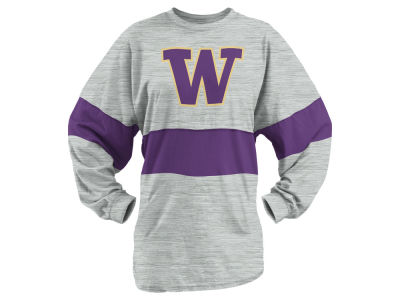 Washington Huskies Pressbox NCAA Women's Morehead Sweeper Long Sleeve T-Shirt
