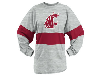 Washington State Cougars Pressbox NCAA Women's Morehead Sweeper Long Sleeve T-Shirt