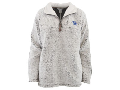 Kentucky Wildcats Pressbox NCAA Women's Sherpa Jacket