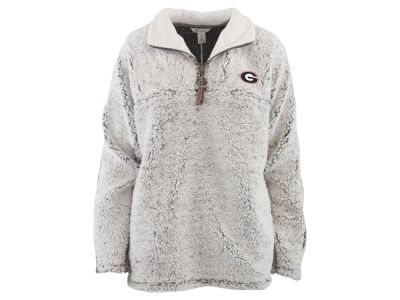 Georgia Bulldogs Pressbox NCAA Women's Sherpa Jacket