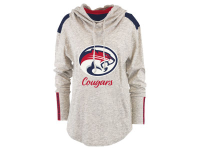 Houston Cougars Pressbox NCAA Women's Gibson Long Sleeve Hooded Sweatshirt