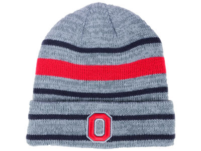Ohio State Buckeyes J America NCAA Academic Heather Cuff Knit