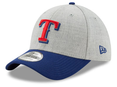 Texas Rangers New Era MLB Heather Classic 39THIRTY Cap