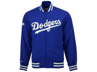 Los Angeles Dodgers MLB Men's Team History Warm Up Jacket