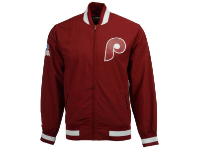 Philadelphia Phillies Mitchell & Ness MLB Men's Team History Warm Up Jacket