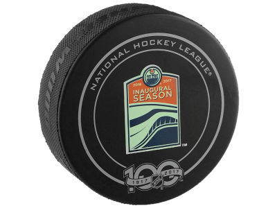 Edmonton Oilers 2017 Official Game Puck Playoffs