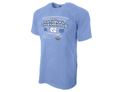 North Carolina Tar Heels NCAA Men's 2017 National Champs All Net T-Shirt
