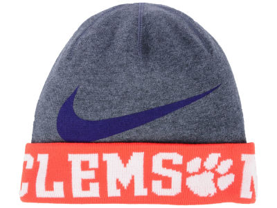 Clemson Tigers Nike NCAA Training Beanie Knit