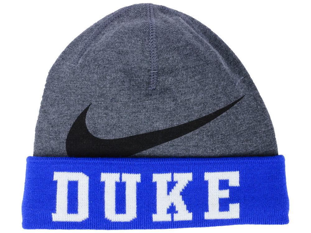 Duke Blue Devils Nike NCAA Training Beanie Knit  128449362fd