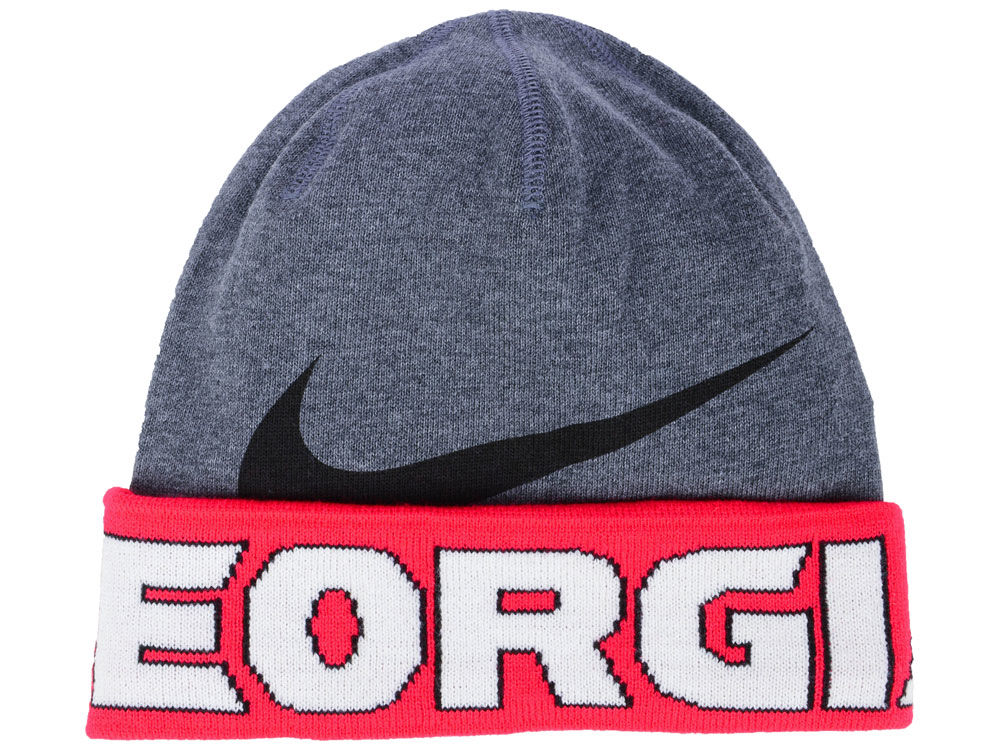 Georgia Bulldogs Nike NCAA Training Beanie Knit  bb65c2801fe
