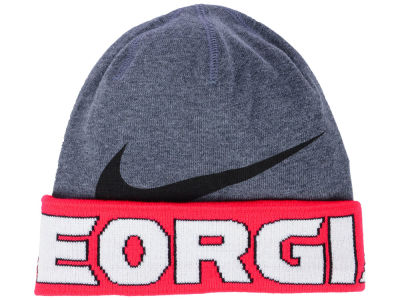 Georgia Bulldogs Nike NCAA Training Beanie Knit