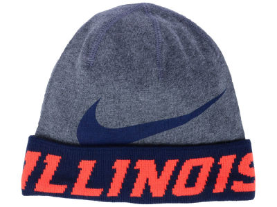 Illinois Fighting Illini Nike NCAA Training Beanie Knit
