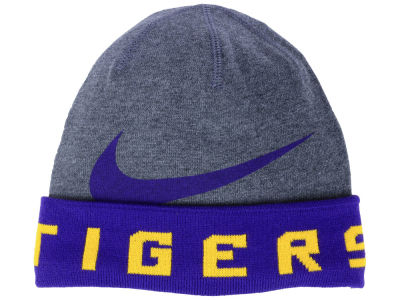 LSU Tigers Nike NCAA Training Beanie Knit
