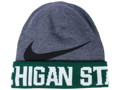 Michigan State Spartans Nike NCAA Training Beanie Knit