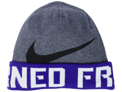 Texas Christian Horned Frogs Nike NCAA Training Beanie Knit